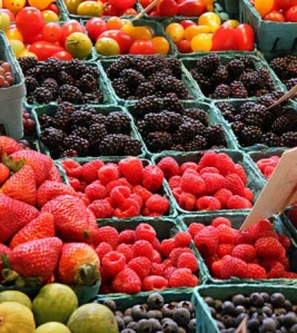 frutos rojos antioxidantes naturales